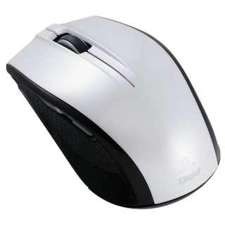MUS-RIF100W マウス Digio2 ホワイト  [IR LED /5ボタン /USB /無線(ワイヤレス)]