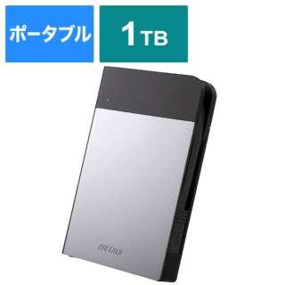 HD-PZN1.0U3-S 外付けHDD シルバー [ポータブル型 /1TB]