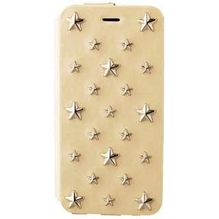 iPhone6用 手帳型 607 Star's Case ホワイト mononoff MCI-607-WH