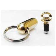 〔イヤホンジャックアクセサリー〕 Pluggy Lock プラギーロック (ゴールド) PL-Ambassador Gold