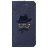iPhone 6 Plus用 手帳型 Gentleman Case ネイビー mononoff MCI-14PGM-NV