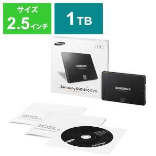MZ-75E1T0B/IT 内蔵SSD 850 EVO [2.5インチ /1TB] 【バルク品】