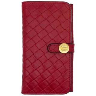 iPhone 6用 Luxe Exotic Female Wallet Weaveレッド UUNIQUE UUOOIP6LFW03