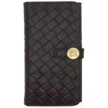 iPhone 6用 Luxe Exotic Female Wallet Weaveブラック UUNIQUE UUOOIP6LFW04
