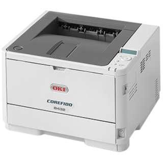 B432dnw モノクロレーザープリンター COREFIDO(コアフィード) [はがき~A4]