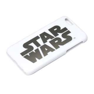 iPhone 6用 ハードケース 銀箔押し スターウォーズ・ロゴ PG-DCS925SW