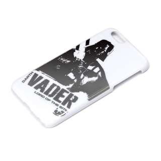 iPhone 6用 ハードケース 銀箔押し スターウォーズ・ダースベイダー PG-DCS926DV