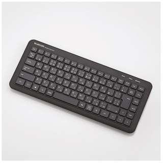 TK-FDM078TBK キーボード ミニ ブラック [USB /ワイヤレス ]