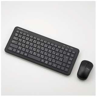 TK-FDM078MBK ワイヤレスキーボード・マウス ミニ ブラック [USB /ワイヤレス ]