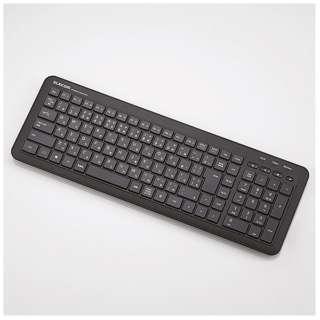 TK-FDM075TBK キーボード ブラック [USB /ワイヤレス ]