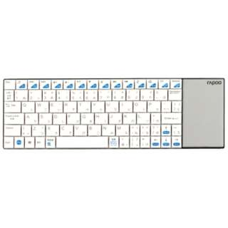 E2700W キーボード rapoo ホワイト [USB /ワイヤレス ]