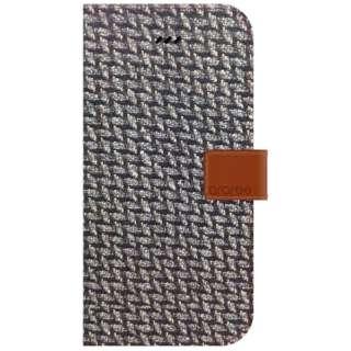 iPhone6用 手帳型 NEAT DIARY メッシュブラック araree I6N06-14C382-16