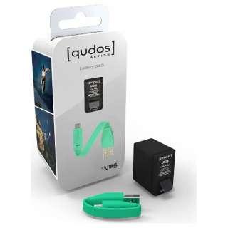 QUDOS バッテリーパック AKGQDA-BTPK[生産完了品 在庫限り]