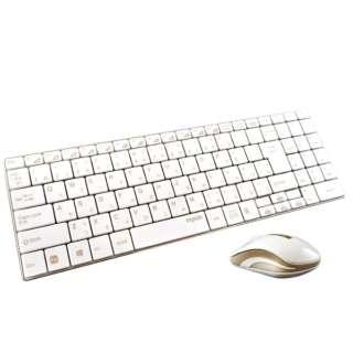 9160 ワイヤレスキーボード・マウス rapoo ゴールド [USB /ワイヤレス ]