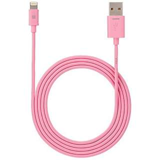 iPad / iPad mini / iPhone対応 Lightning ⇔ USBケーブル 充電・転送 (1.2m・ピンク) MFi認証 SoftBank SELECTION SB-CA34-APLI/PK