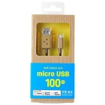[micro USB]USBケーブル 充電・転送 (100cm・ダンボー)CHE-230 [1.0m]