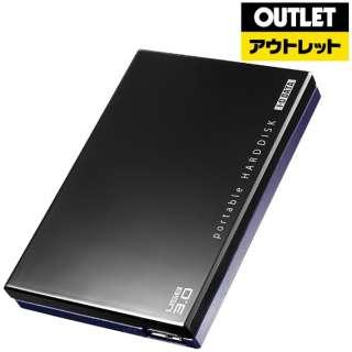 【アウトレット品】 HDPC-UT1.0KE 外付けHDD ブラック [ポータブル型 /1TB] 【生産完了品】