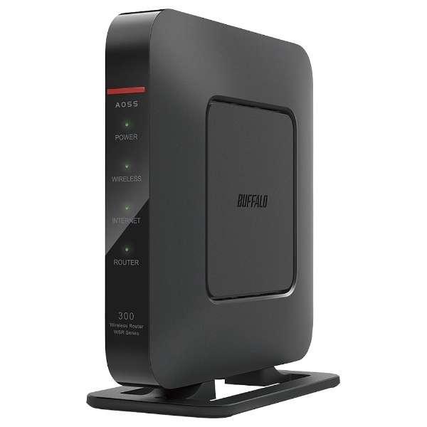 WSR-300HP wifiルーター AirStation(エアステーション) ブラック [n/g/b]