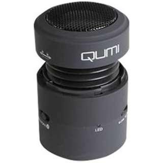QMSP-10B ブルートゥース スピーカー ブラック [Bluetooth対応]