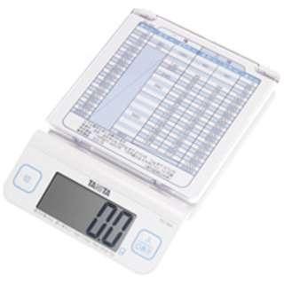 デジタルレタースケール(2kg) KD-194L-WH ホワイト