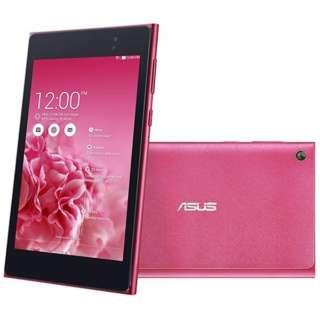 [LTE対応]ASUS MeMO Pad 7 ME572CL  [Androidタブレット・SIMフリー] ME572CL-HP16LTE (2015年最新モデル・ホットピンク) ME572CL-HP16LTE ホットピンク [7型ワイド /ストレージ:16GB /SIMフリーモデル]