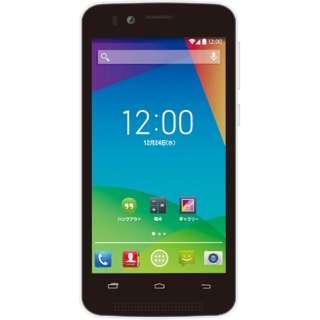[LTE非対応]SIMフリースマートフォン 「priori2」 スペシャルパック FT142A-PR2SP-BK (ブラック)