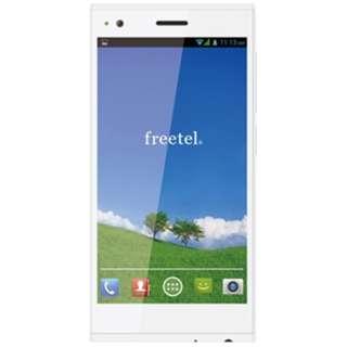 [LTE対応]SIMフリースマートフォン 「freetelLTEXM」 FT142D_LTEXM_WH(クリスタルホワイト)