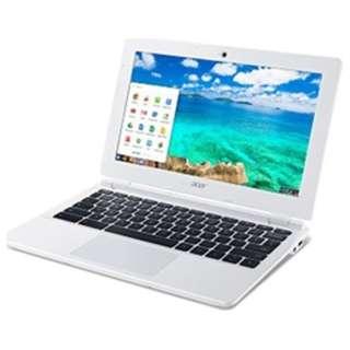 CB3-111-H14M ノートパソコン Chromebook ムーンストーンホワイト [11.6型 /intel Celeron /eMMC:16GB /メモリ:4GB /2015年2月モデル]