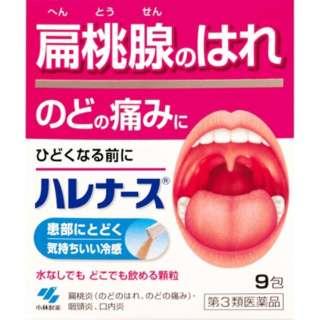 【第3類医薬品】 ハレナース(9包)