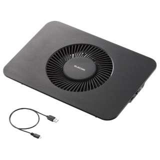 ノートPC用クーラー [USB接続] 静音・強冷タイプ(15.4~17型対応・ブラック) SX-CL21LBK