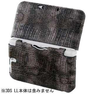 CYBER・ハンティングカバー(3DS LL用) ブラック【3DS LL】