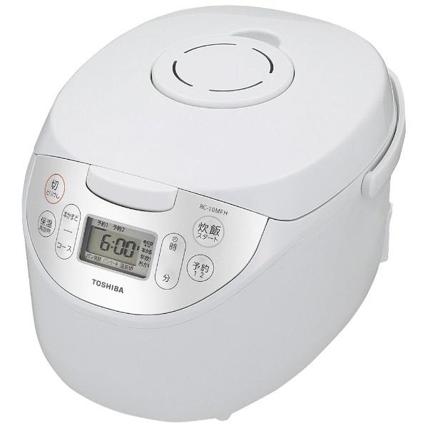 東芝 マイコンジャー炊飯器 RC-10MFH(W) 炊飯器