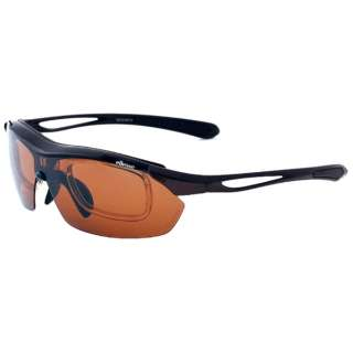 ellesse スポーツサングラス(ブラック×ダークグレー)ES-S108 2