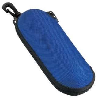 フック付き ウレタンセミハード メガネケース(ブルー)2899-03