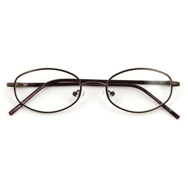 老眼鏡 エントリーライン FR-05(ブラウン/+1.50)