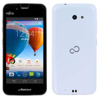 [LTE対応]SIMフリースマートフォン 「ARROWS M01」 FARM01004 (ホワイト)
