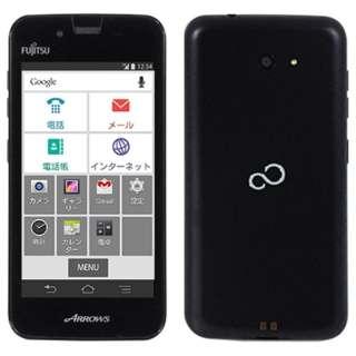 [LTE対応]SIMフリースマートフォン 「ARROWS M01」 FARM01003 (ブラック)