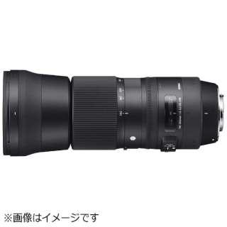 カメラレンズ 150-600mm F5-6.3 DG OS HSM Contemporary ブラック [シグマ /ズームレンズ]