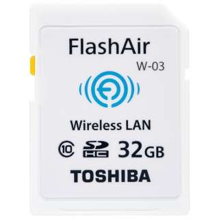 SDHCカード FlashAir(フラッシュエアー) SD-WEシリーズ SD-WE032G [32GB /Class10]