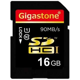 SDHCカード ウルトラハイスピードシリーズ GJS10/16GU9 [16GB /Class10]