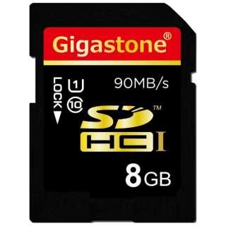 SDHCカード ウルトラハイスピードシリーズ GJS10/8GU9 [8GB /Class10]