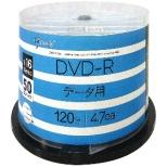 GJD47-16X50PW データ用DVD-R [50枚 /4.7GB /インクジェットプリンター対応]