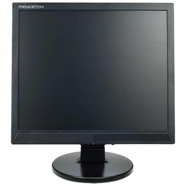 LEDバックライト搭載液晶モニター ブラック PTFBCF-17 [スクエア /SXGA(1280×1024)]