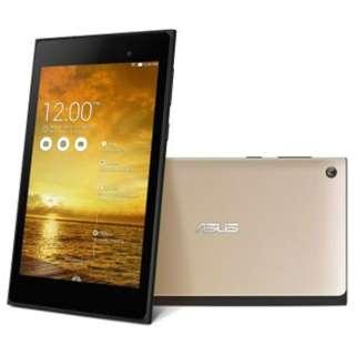 [LTE対応]ASUS MeMO Pad 7 ME572CL  [Androidタブレット・SIMフリー] ME572CL-GD16LTE (2014年モデル・ゴールド) ME572CL-GD16LTE シャンパンゴールド [7型ワイド /ストレージ:16GB /SIMフリーモデル]