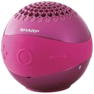 WS-BL1 ブルートゥース スピーカー ピンク [Bluetooth対応 /防水]