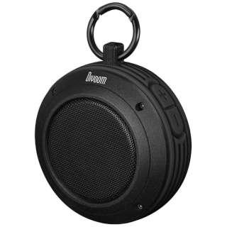DVM001BK ブルートゥース スピーカー VOOMBOX-TRAVEL ブラック [Bluetooth対応]