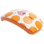 MF-01A-OR マウス mouse fit(マウスフィット) オレンジ  [光学式 /3ボタン /USB /有線] 【外装不良品】