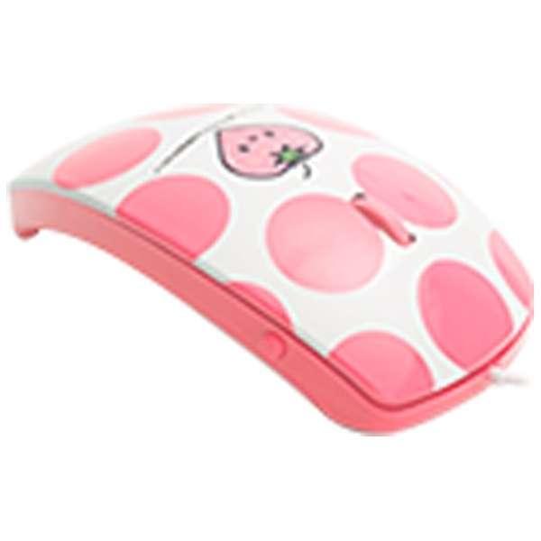 MF-01A-PI マウス mouse fit(マウスフィット) ピンク  [光学式 /3ボタン /USB /有線]