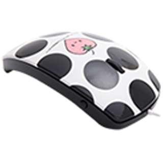 MF-01A-BK マウス mouse fit(マウスフィット) ブラック  [光学式 /3ボタン /USB /有線]