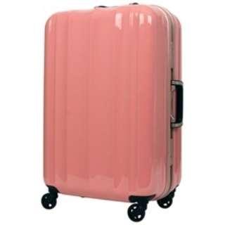 TSAロック搭載スーツケース 超軽量キャリー(69L) 6702-64 ピンク